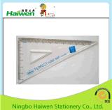 A régua Hw-R05 ajustado de Haiwen 15cm aperfeiçoa a régua ajustada com o saco do Zipper do PVC