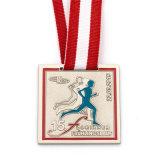 Medaglia corrente di maratona della stazione di finitura dello smalto 10k