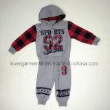 Напечатанная малышами одежда мальчика одежд на весна/осень