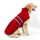 Пэт СВЕТООТРАЖАЮЩИЕ ПОЛОСЫ покрыть собака Coldproof куртка для больших собак