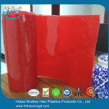 De industriële Rode Vlakke Plastic VinylBroodjes van het Gordijn van de Strook van de Deur van het Lassen van pvc