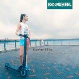 Koowheel 8-дюймовый портативный складной электрический удар скутер с Samsung аккумуляторная батарея