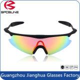 Het Cirkelen van de Sport van de Veiligheid UV400 van PC van de manier Materiële Zonnebril