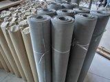 Обожженная нержавеющей сталью ткань провода