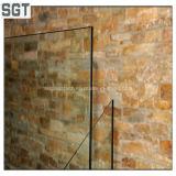 vidrio laminado teñido seguridad gris de bronce de 8.38m m PVB