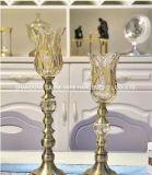 Candela di vetro Holer per la decorazione domestica, supporto di candela di arte