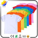 T-shirts enfants en coton purifié avec couleur logo personnalisée