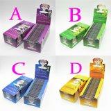 Papel de balanceo del tabaco para el papel de balanceo colorido de la mano del papel de cigarrillo de la fruta de los juegos preferidos de los hombres de las mujeres que fuma