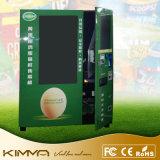 Máquina de venda automática de alimentos do transportador com ecrã táctil de função refrigerados