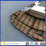 2mm-8mm Framlessの最もよい価格の斜めの長方形の壁ミラー