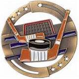 Icona stabilita personalizzata di disegno semplice del basamento della medaglia del hokey dei premi dello smalto