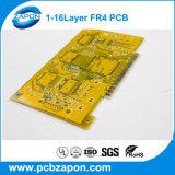 高品質8つの層の黄色のはんだのMasker PCBのボード