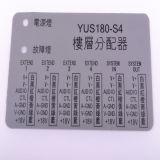 Etiquetas industriais antiofuscantes do policarbonato pela estaca do CNC