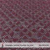 衣服によって編まれる綿のレースファブリック卸売(M3439)