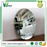 Овальное стеклянное декоративное зеркало ванной комнаты с светом