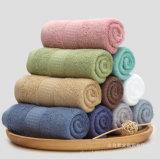 昇進の明白な染められた綿手/表面/浴室タオル