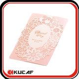 Изготовленный на заказ печать карточек приглашений венчания