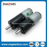 12V Baixa Rotação do Motor de engrenagem DC pequeno com caixa de engrenagens