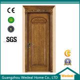 Qualité en bois solide de porte de placage en bois de forces de défense principale
