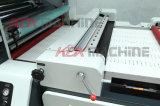 Stratifié feuilletant à grande vitesse de machine avec le couteau chaud Laminierfolien (KMM-1050D)