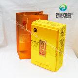 금 식품 포장 선물 인쇄를 위해 이용되는 서류상 선물 부대
