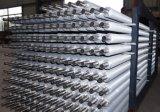 La extrusión de aluminio Tubos Fin