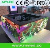 Outdoor display Myled Triangolo HD impermeabile Creative Design Affitto Piccola Pixel Pitch P3.91 LED con l'alta qualità