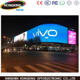 Alquiler al aire libre de P6 HD que hace publicidad de la pantalla de visualización a todo color de LED