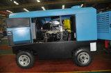 Компрессор воздуха 4-колес Kaishan BKCY-10/13 тепловозный управляемый роторный