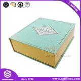 Contenitore di regalo cosmetico del profumo del magnete quadrato squisito del cartone