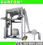 Sistema de encadernação totalmente extensível para paletes para cimento