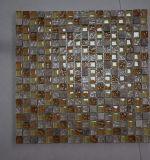 2017 nuevos mosaicos del cuadrado de la llegada que derriten el vidrio embaldosan el azulejo de la pared de la cocina del cuarto de baño