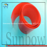 70 mm de largura PVC Heat Shrink Wrap Blue para bateria 4X18650