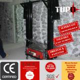 Digital-Baugerät-Wand, die Maschine vergipst