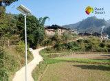 De geïntegreerdeu Verlichting van de LEIDENE Zonne Aangedreven Straat van de Tuin met de Sensor van de Motie