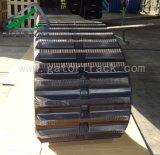Trilha de borracha da trilha do descarregador da manufatura da qualidade de Higu (600X100)