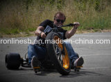 7HP la direzione Trike/direzione alimentata a gas Trike della perforatrice alimentata motore Trike/200cc con i manubri di stile del selettore rotante, 26X4 direzione anteriore Kart/perforatrice della gomma/tre rotelle va Kart