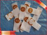 Contrassegno di formato tessuto vestiti di seta dell'indumento del contrassegno di formato di Pinted
