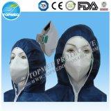 Nonwoven лицевой щиток гермошлема 3ply с CE ISO13485 Earloop/связи