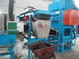 ゴム製粉を作るために生産ラインをリサイクルする不用なタイヤ