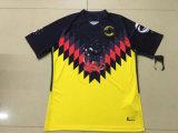 2017년 미국 노란 까만 축구 Jerseys
