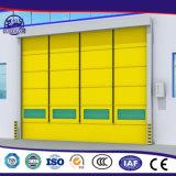 Porta interior industrial personalizada do obturador do rolo do PVC da qualidade superior auto