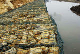 Galvanized River Bank Protect Gabion Basket / Gabion Box