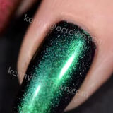 Polvo brillante neón Magic Chameleon Gel Glitter de pigmento de polaco