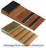 Nastro trasportatore di gomma della tela di canapa del cotone di buona qualità