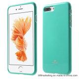 본래 수성 Goospery iPhone 8/8plus를 위한 저속한 분말 묵 TPU 상자