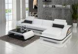 Sofá de couro secional da forma moderna nova de U para a sala de visitas (HC1122)