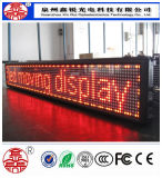 Schermo di visualizzazione esterno del modulo del LED per la pubblicità del colore singolo di colore rosso