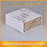 Rectángulo de regalo de empaquetado de encargo de papel de empaquetado plegable