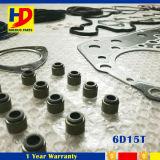 ディーゼル機関の部品のための6D15t掘削機エンジン分解検査のガスケットキット